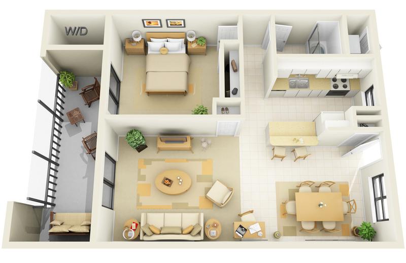LG1B_1B_-_720sf_-_3D_Floor_Plan
